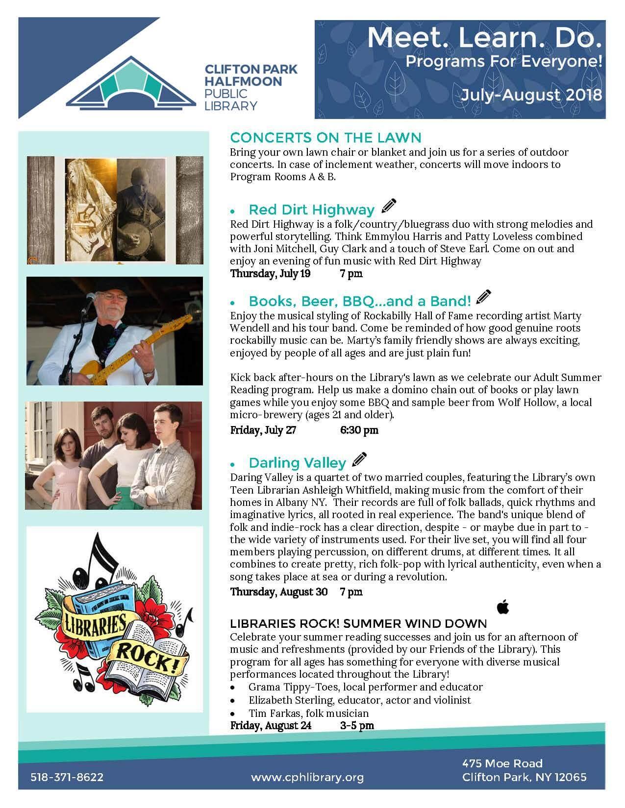 program brochure cover