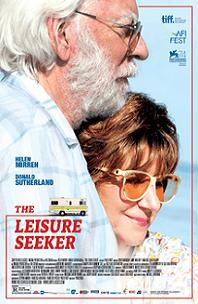 The Leisure Seeker; older man and woman hugging