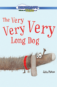 The very very very long dog; dachshund with red dog collar