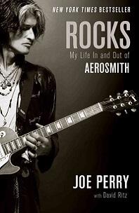 Rocks by Joe Perry: man holding guitar