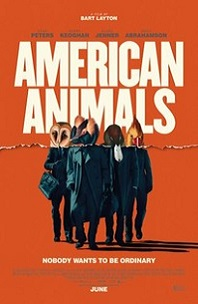 American Animals; four humans with animal bodies standing in a group