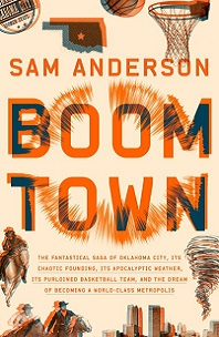 Boom Town by Sam Anderson; shock waves going out from center