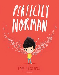 Perfectly Norman by Tome Percival; young person with wings