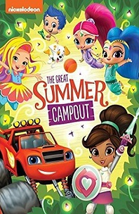 Great Summer Campout!; four girl fairies an smiling car
