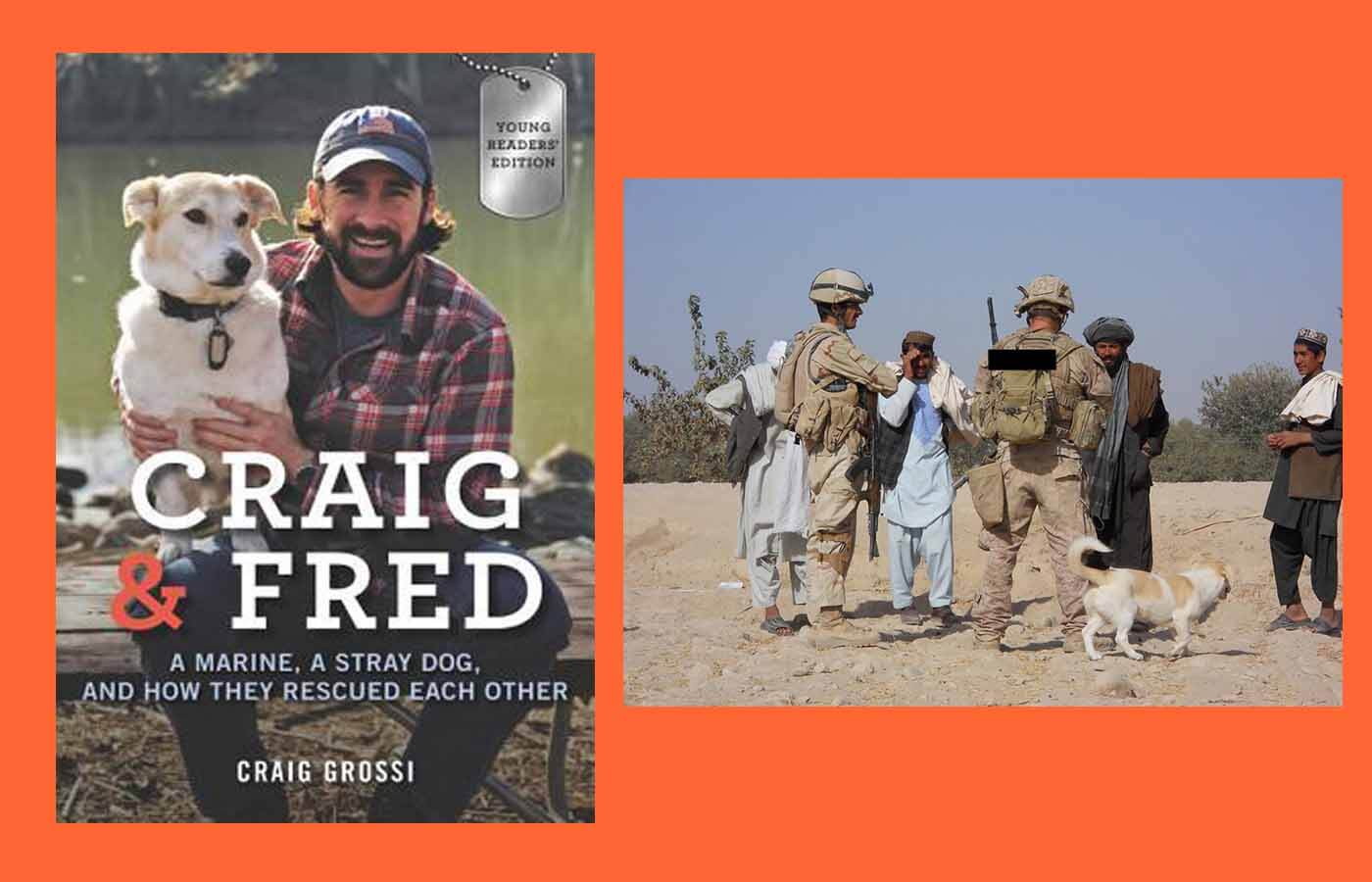 Author Craig Grossi and Fred