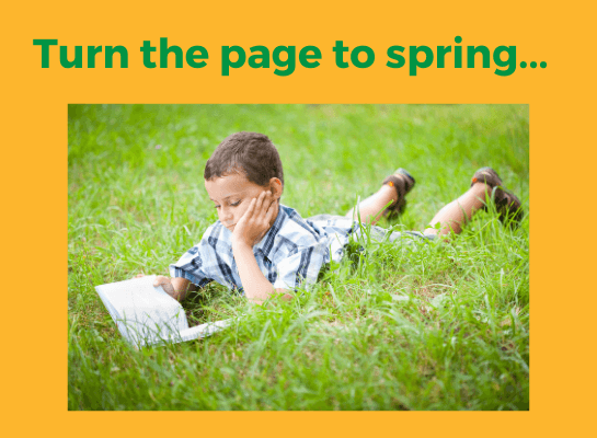 turn the page to spring book recommendations