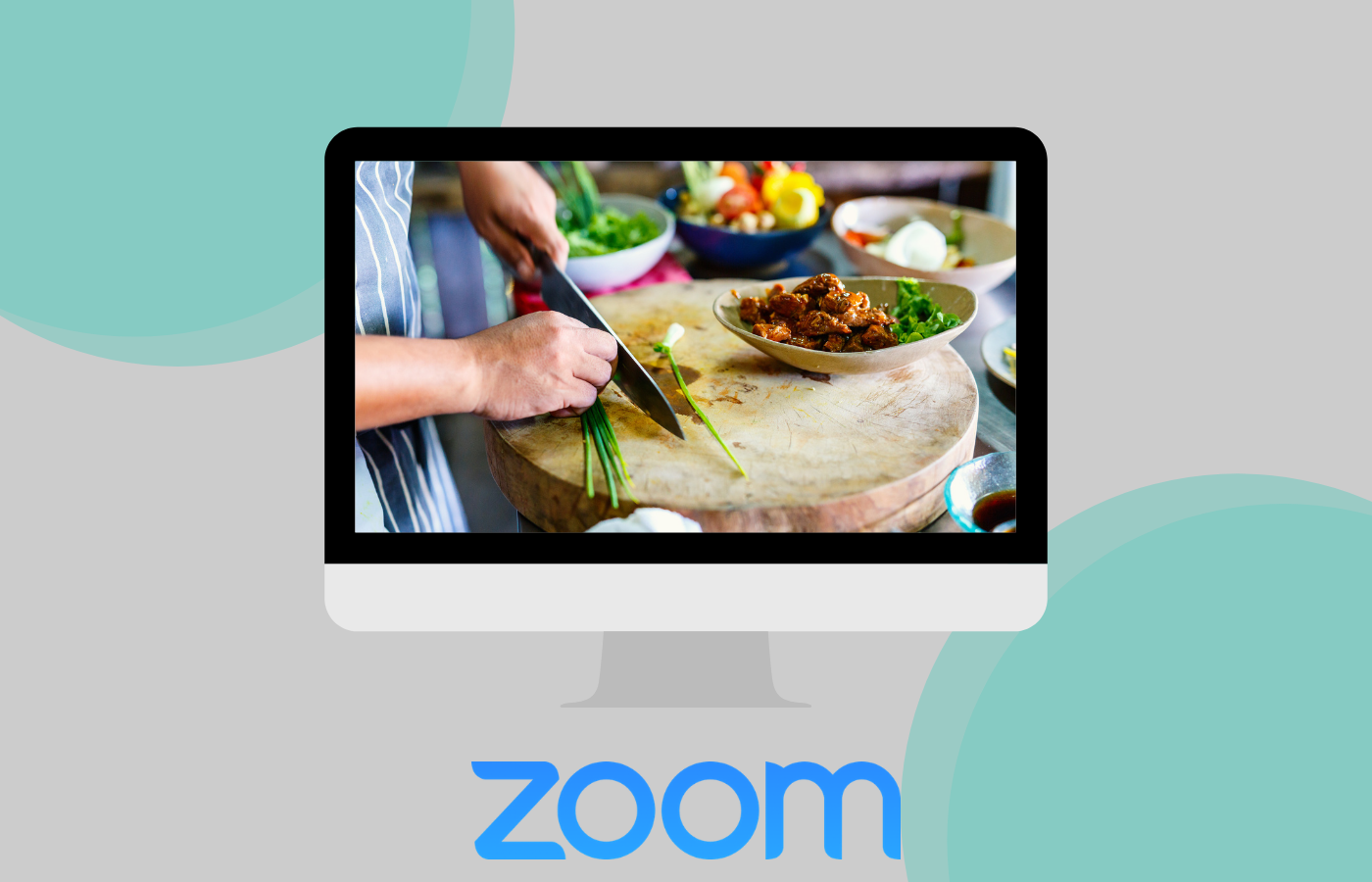 Cooking class on zoom for healthy picnic sides